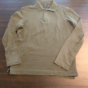Victorinox Long Sleeve Cotton Pique Stretch Polo